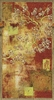 Damask Blossoms Asian Tapestry