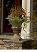 Small Fluted Stone Urn