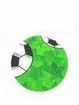 Dog Bandana Green Soccer
