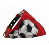 Dog Bandana Red Soccer