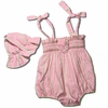 Hand Smocked Baby Bubble Romper Set