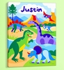 Boy's Dinosaurland Wall Art