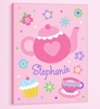 Girl's Tea Party Wall Art