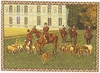English Hunting Scene Tapestry