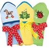 Kitteroo Hooded Bath Towels