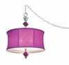 Purple Bijoux Pendant Lamp