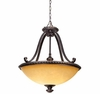 Amber Scavo Glass Pendant Lamp
