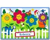 Girl's Happy Flowers Placemats