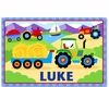 Boy's Farm Tractor Placemats