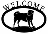 Friendly Dog Welcome Sign