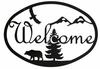 Bear & Eagle Welcome Sign
