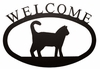 Cat Welcome Sign