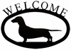 Dog Welcome Sign - Dachshund