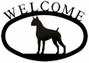 Dog Welcome Sign - Boxer