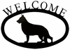 Dog Welcome Sign - German Shepherd