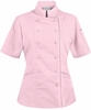 Women's 100% Cotton Tailored Chef Coat