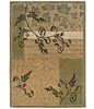 Bergstrom Gold Green Area Rug