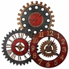 Uttermost Trio Metal Wall Clock
