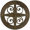 Siena Gallery Wall Clock