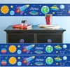 Personalized  Wall   Border - Outer Space