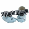 Blue Precious Ceramic Baby Shoes