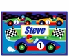 Vroom! Race Car Placemats