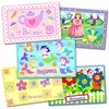 Girl's 5-pack Multi-Design Placemats