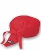 Chef Wrap Cap - Red or Black