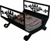 Wrought Irons Magazine Racks