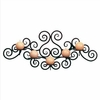 Wrought Iron Candle Holder Swirl