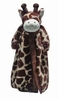 Personalized Giraffe Animal Blanket