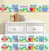 Personalized Wall Border - Owl