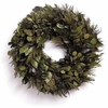 Shades of Basil Wreath - Preserved