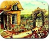 Cottage Garden Kitchen Board