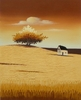 Canvas Oil Art - Grasslands III