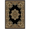 Black Epiphany Area Rug - Traditional