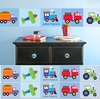 Personalized Wall Border - Transportation