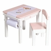 Girl's Art Table  & Chair Set
