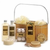 Vanilla Pleasures Spa Basket