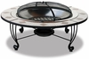 Stainless Steel Outdoor Firebowl - Mosaic