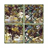 Tiffany Stained Glass Window Coasters