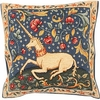 Unicorn French Tapestry Cushion Cover
