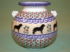 Polish Small Vase - Pattern 06