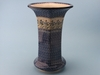 Wide Mouthed Polish Vase - Spearmint