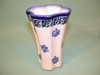 Polish Small Fluted Vase - Pattern 3.5