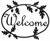 Acorn Welcome Sign