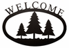 Pine Trees Welcome Sign