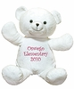 Kid's Plush White Bear Buddy - 20""