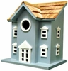 Colonial Blue 2-Storey Birdhouse