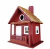 Little Red Cabin Bird House